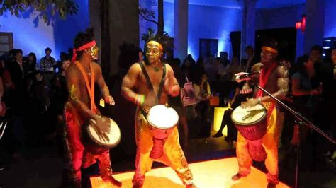 African drum performance@mini cooper product launch 2010