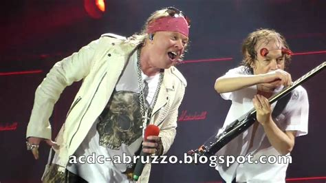 AC/DC and AXL ROSE - HIGHWAY TO HELL - Düsseldorf 15 June