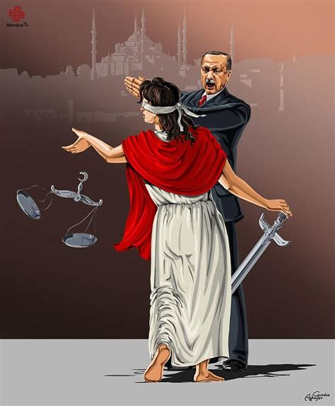 Satirical Illustrations Reveal How World Leaders See Justice