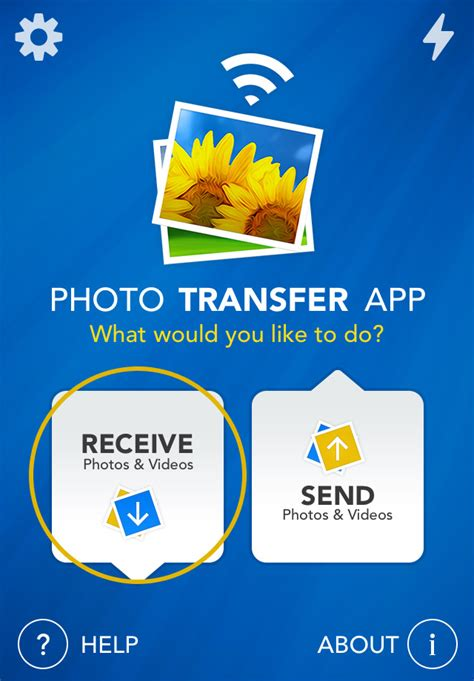 Photo Transfer App | Dropbox Plugin - How to Select and