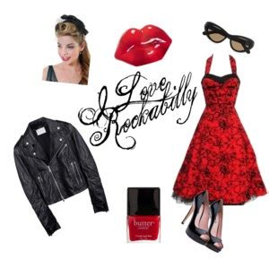 JUST A MAKEUP: Rockabilly farsang - smink step by step +1