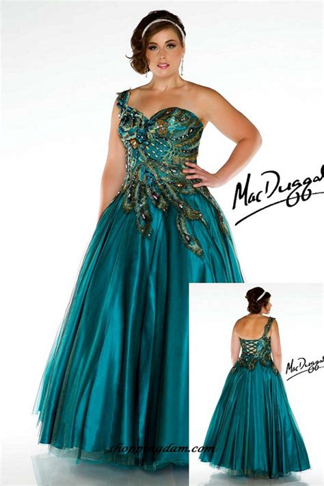 2014 Plus Size Prom Dresses For a Curvy Figure (24