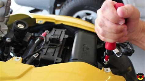 BMW F650GS Air Filter Replacement - YouTube