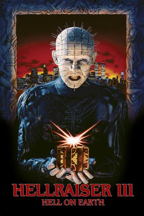 Hellraiser III: Hell on Earth (1992) - Posters — The Movie