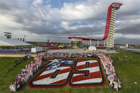 Number 69 retired in tribute to Nicky Hayden - The