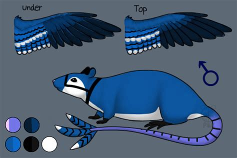 BlueJay - Peace&Colby's Fursona and Characters