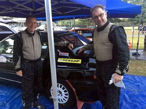 Podium finish in the wet for Lee and Dunlop - RallySport