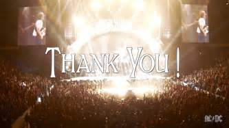 AC/DC - Rock or Bust World Tour - Thank You - YouTube