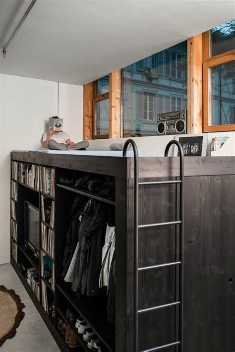 Living Cube Concept – Innovative Storage Facility for