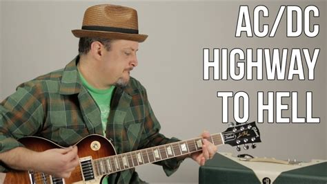 AC/DC - Highway to Hell - Guitar Lesson - How to Play