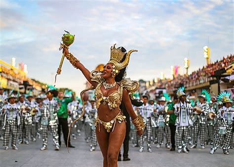 Samba and sequins: Brazil's carnival paints the town red