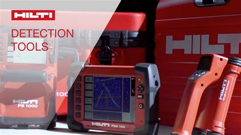 Hilti PS 1000 and PS 250 Detection Systems - YouTube