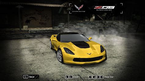 Need For Speed Most Wanted Chevrolet Corvette Z06 (C7