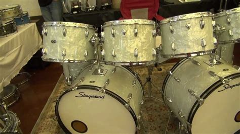 JDG Drums Booth At The 2012 Chicago Drum Show - Vintage